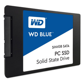 Disco Solido Ssd Wd Blue 500gb 2.5 7mm Notebook Y Pc