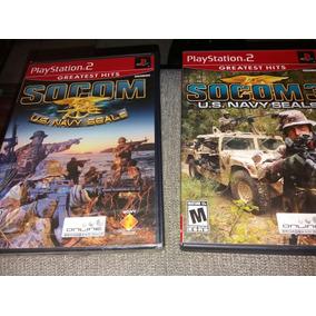 Jogos Ps2 Playstation 2 Originais Socom 1 Lacrado