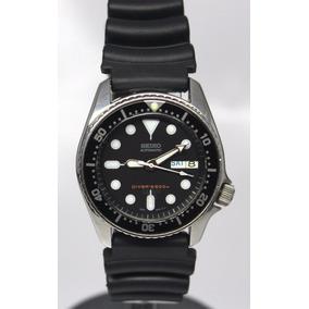 Reloj Seiko Diver Mediano P/ Buceo Caucho Automatico 90´s