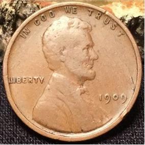 Lincoln Penny 1 Cent 1909 P Fecha Clave Primer Emision