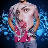 Camiseta Lady Gaga Artpop The Fame Monster Joanne Cheek