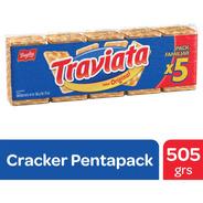 Galletitas Traviata Original Cracker Bagley - Pentapack 505g