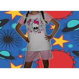 Pijamas De Soy Luna - Monster High - Kity - Sarah Kay