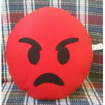 Almofada Feltro Emoji Whatsapp Zap Carinhas Decor Artesanal