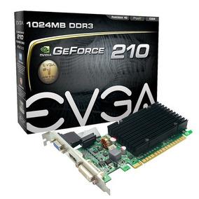 Placa De Vídeo Vga Evga Nvidia Geforce Gt210 1gb Ddr3 Pci-ex