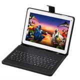 Tablet 10 Gps Celular 3g Tel 2 Sim Bt Wifi + Funda Y Teclado