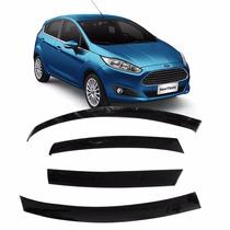 Calha De Chuva Acrilica New Fiesta Hatch 4 Portas - Diadema