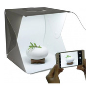 Caja De Luz Led Fotografía 40x40 Portátil Fotos De Productos