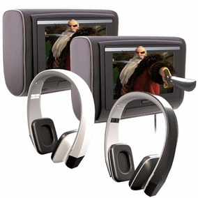 Combo Cabeceras Pantalla Touch + Audifonos Ir Power Acoustik