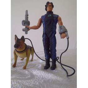 Max Steel Comisario Doc Muñeco Robotico