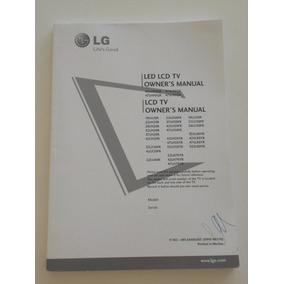 Manual De Usuario Televisor Lg Lcd