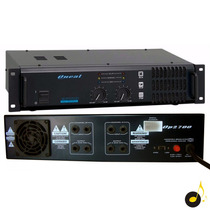 Amplificador Potência Oneal Op-2700 250w Rms 4 Ohms Bivolt