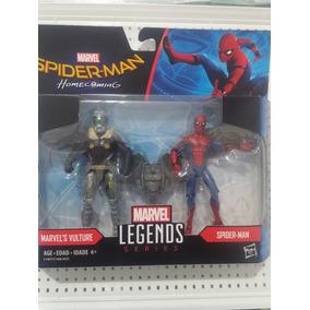 Marvel Legends Homem Aranha De Volta Ao Lar Kit Duas Figuras