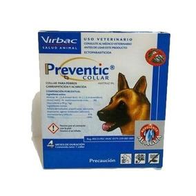 Collar Garrapaticida Acaricida Preventic Virbac Para Perros