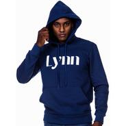 Moletom Masculino Canguru Capuz - Estampa Lynn