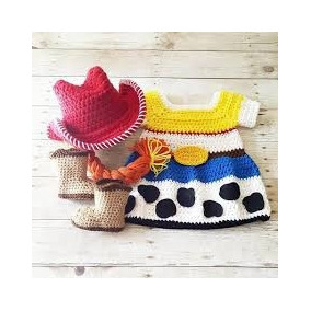 Vestido Jessy Toy Story , Tejido A Crochet