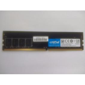 Memória Crucial Ddr4 8gb 2400mhz Udimm 1.2v Cl17 Pc Desktop