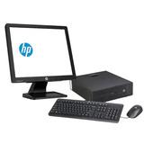 Equipo Hp Prodesk 600 G1 Core I7 4ta Gen 8gb 500 Gb Lcd 20