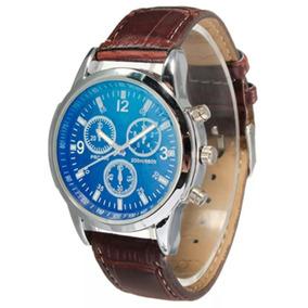 Reloj Analogo D Pulsera Tipo Yazole Azul Hombre Envio Gratis