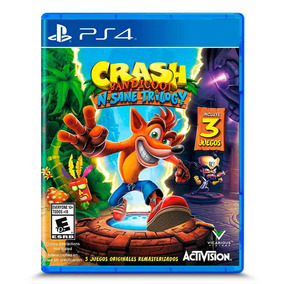 Juego Ps4 Activision Crash Bandicoot N. Sane Trilogy