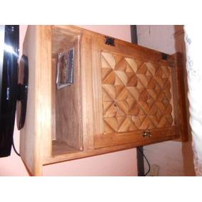 mueble tocador rustico para tv y dvd