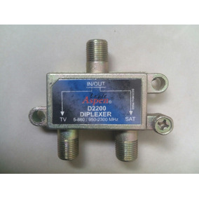 Splitter De 2 Vias Con Power Pass