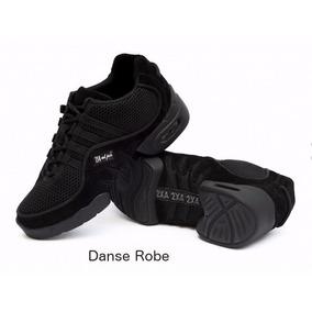 Zapatillas De Danza 2 X 4 Al Pie Modelo Buenos Aires