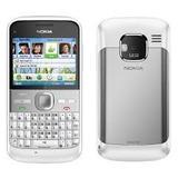 Nokia E5-00 Branco Câm 5mp 3g Bluetooth+nf+garantia