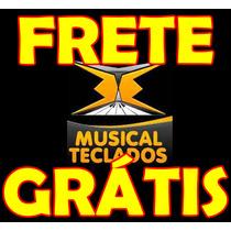 Kit 5 Borrachas Teclado Piano Yamaha Psr-e303 Frete Grátis