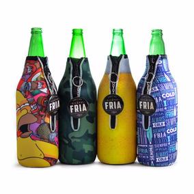 Pack 4 Siempre Fría Funda Térmica Para Cerveza ¡originales!