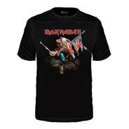 Camiseta Banda Stamp Infantil Iron Maiden