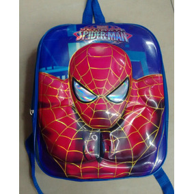 Bolsos Morral Spiderman, Capitan, Transformer, Cars, 3d