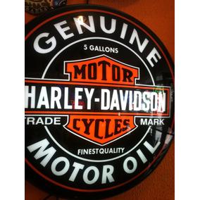 Placas Decorativas Luminoso Nneon Harley Davidson Bar Buteco