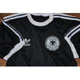Camiseta Retro Alemania Negra Todos Los Talles