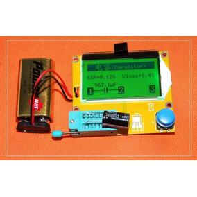Medidor Esr Capacitores Inductores Transistores Envio Gratis