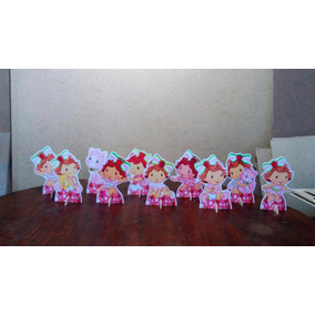 Kit Moranguinho Baby De Mesa,display,festa Infantil,mdf