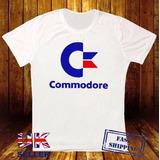 Remera Logotipo De Commodore 64 Retro Amiga Sinclair Comput