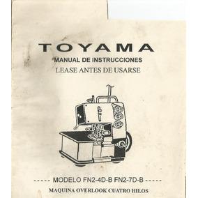 Manual De Maquina Over Toyama Pdf
