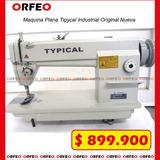 Oferta !! Maquina Plana Typical Industrial Original Nueva