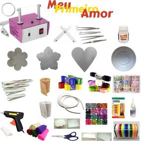 Mega Kit Artesanato - Kit Inicial Para Artesanato 200 Itenis