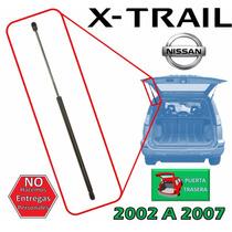 02-07 Nissan X-trail Piston Hidraulico 5ta Puerta Izquierdo