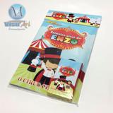 10 Revistinhas Colorir + Giz De Cera + Lapela Embalagem Tamg