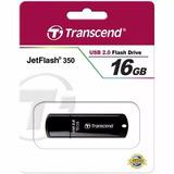 Pendrive Transcend Jetflash 350 De 16gb Usb 2.0 Mp3 Celular
