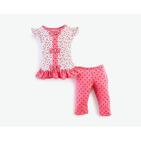 Conjunto Con Malla Baby Colors Rosa