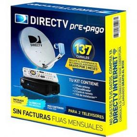 Kit Directv Hd Prepago Nuevos + Garantia - Entrega Rapidas