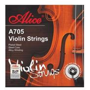Encordado Alice A705 Para Violín 4/4