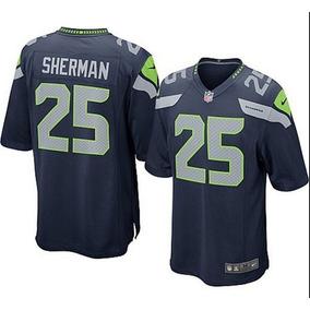 Camisa Futebol Americano Nfl Richard Sherman Pronta Entrega