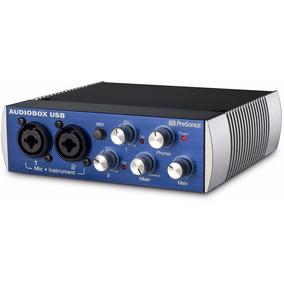 Presonus Audiobox Usb Interface De Grabacion 2x2 Midi In Out