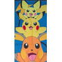 Toallones Infantiles- Pokemon- Pikachu! Miralos Hermosos!!