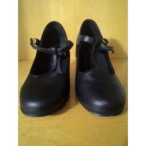Sapato De Couro De Dança De Salão Capezio 36